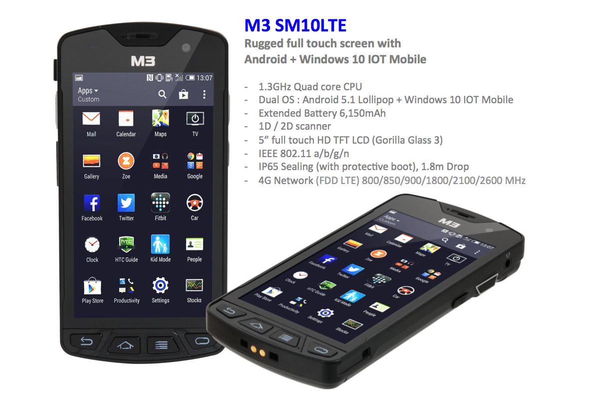 M3 SM10 LTE